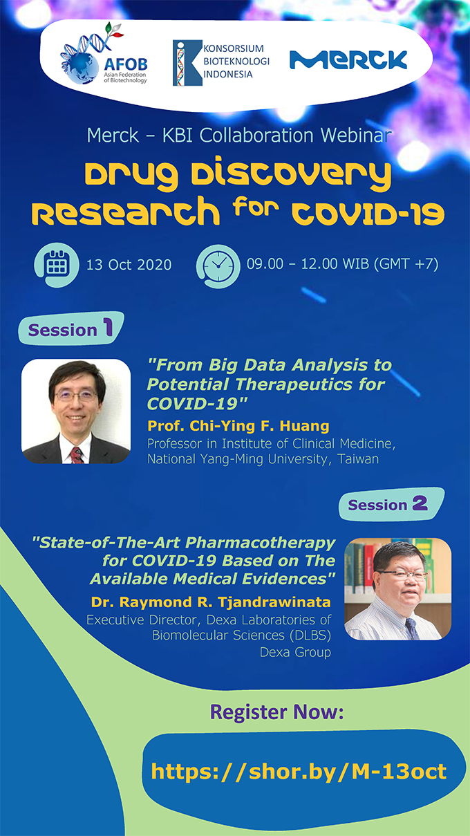 Drug Discovery Research for COVID-19 이미지